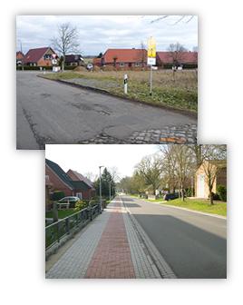 Ausbau der OD Steegen im Zuge der K 29, 1. - 3. Bauabschnitt