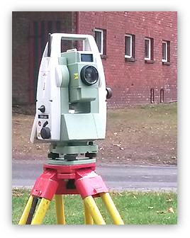 Foto: Ingenieurvermessung, Entwurfs- und Bauvermessung