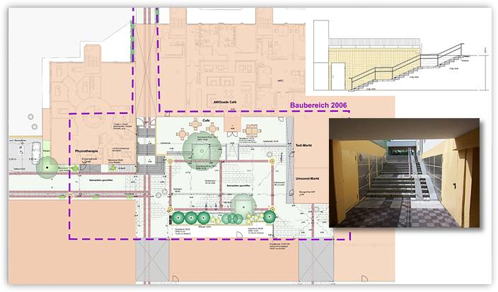 Soziale Stadterneuerung Kaltenmoor - Umgestaltung des EKZ St. Stephanuspassage