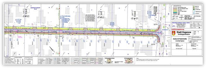 Ausbau der Kastanienallee in der Stadt Hagenow - Detailplanung