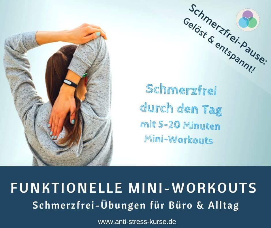 Anti-Stress-Pause mit Schmerzfrei-Übungen & Entspannung - Aktive Pause für die Betriebliche Gesundheit- Anti-Stress-Trainerin Christina Gieseler - Mindful Balance Gesundheitsprävention & Stressmanagement
