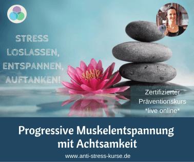 Präventionskurs Raus aus dem Stress - Achtsame Stressbewältigung - Christina Gieseler, Mindful Balance Gesundheitsprävention