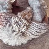 三つ編みスヌード