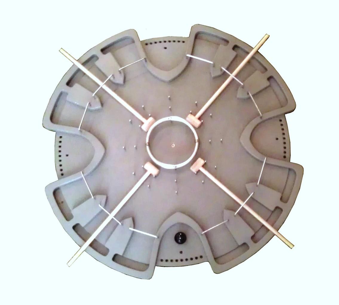 HADACO - modello in plastica grigia
