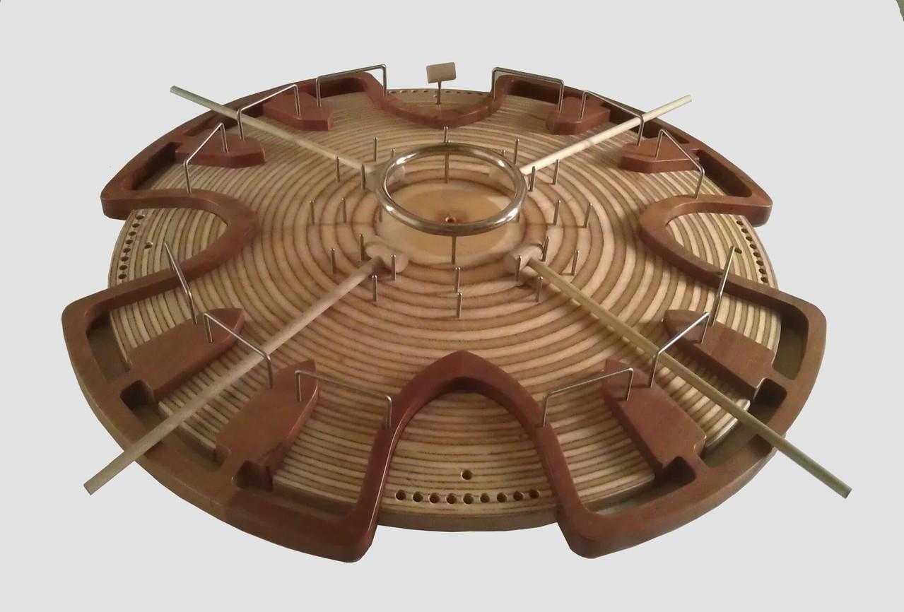 HADACO - modello in legno di ciliegio