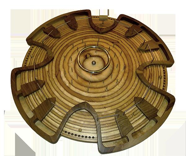 HADACO - modello in legno di noce (senza martello)