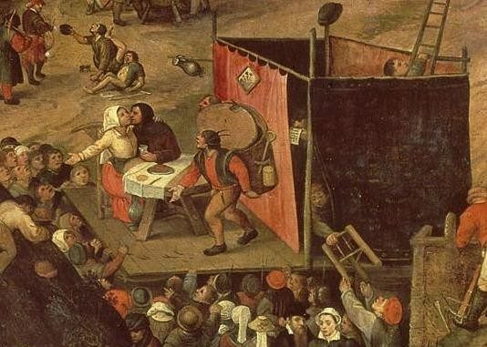La Foire paysanne. Pieter Balten (1540-1598). Rijksmuseum Amsterdam
