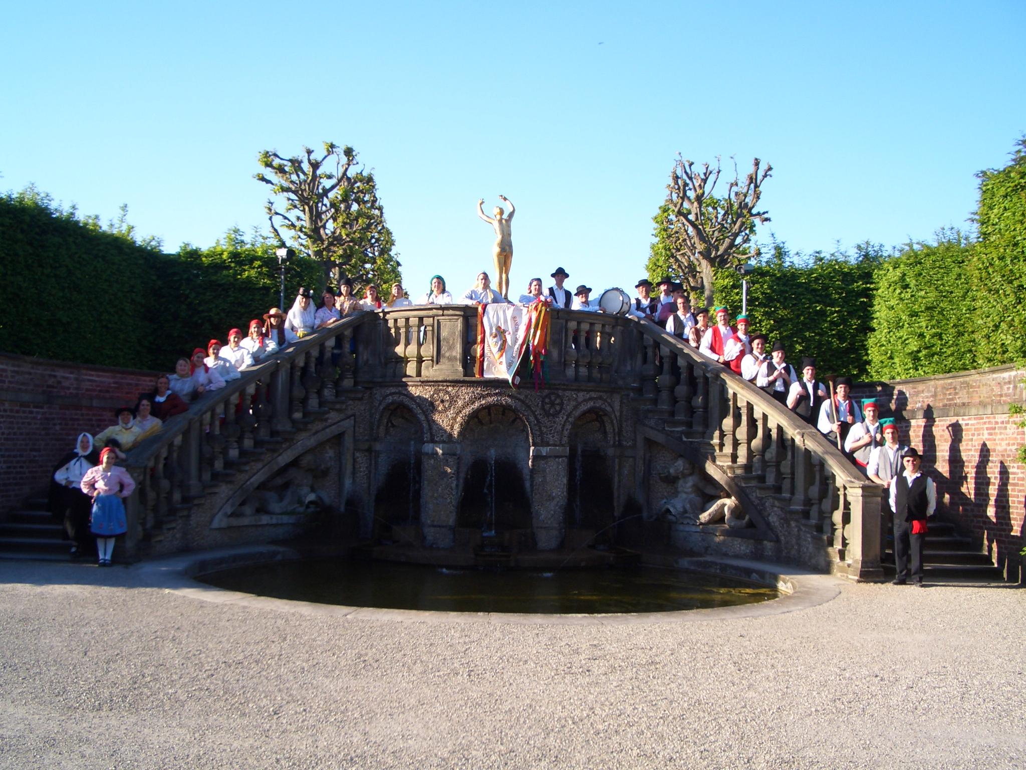 Hannover - 2008 in den Herrenhäuser Gärten