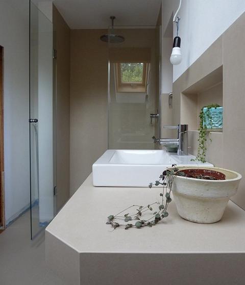 Schönes neu renoviertes Bad in München