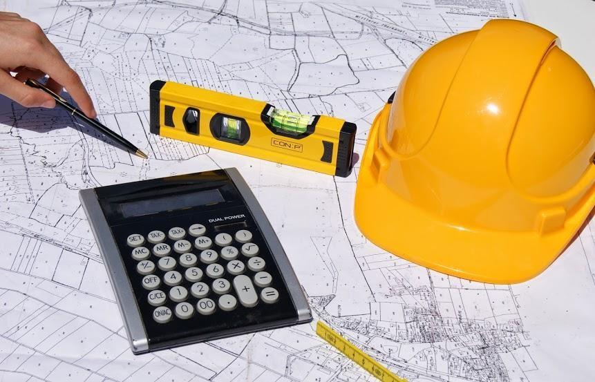 Plan einer Bürorenovierung