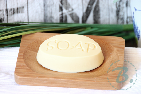B.nature I Handmade facial Salt Water Soap with Aloe Vera