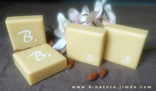 B.nature I Handmade Soap with Almond Milk