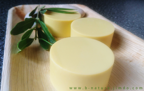 B.nature I Handmade Pure Olive Oil Soap
