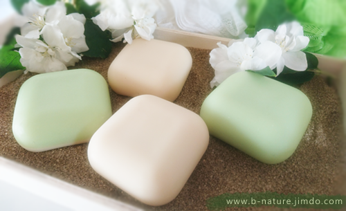 B.nature I Handmade Soap Apple & Lindenblossom