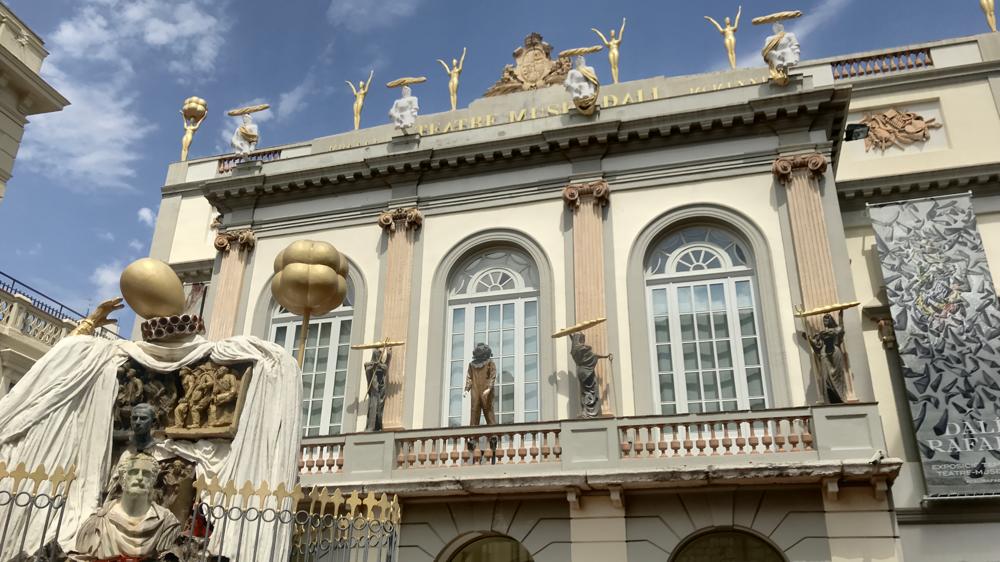 Theatro-Museo-Dali Haupteingang