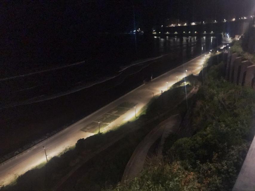 Der Strand von Biarritz.
