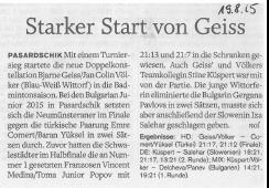 Holsteinischer Courier vom 19.08.2015