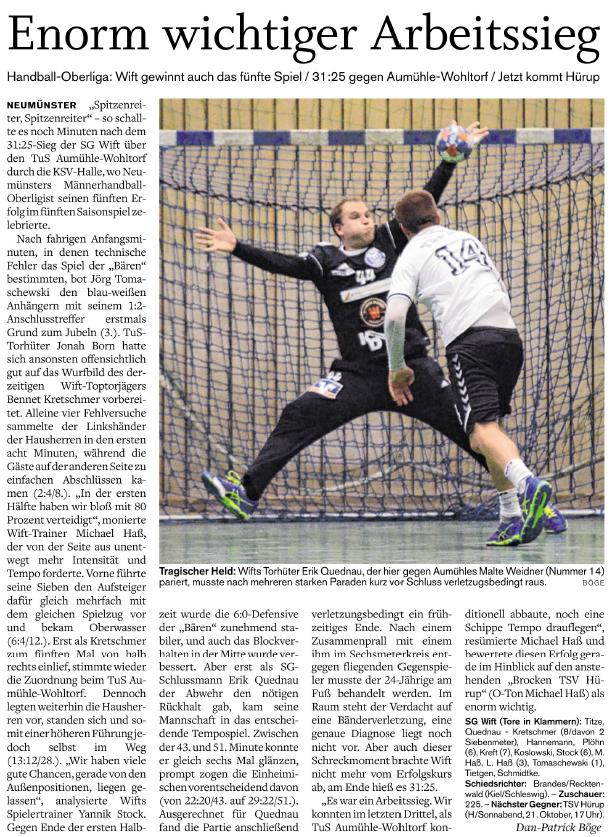 5. Spieltag Oberliga 2017/2018