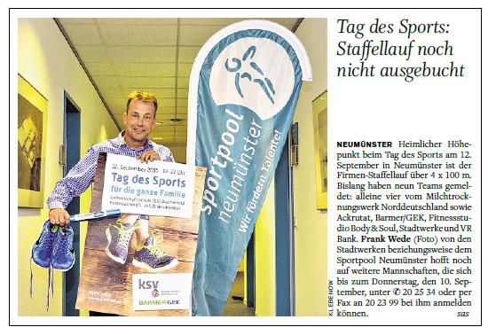 Holsteinischer Courier, 03.09.2015