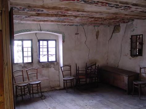 Wohnzimmer vor der Renovation