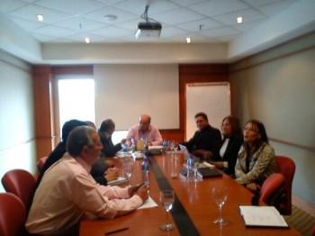 Reunión con diferentes estamentos del Gobierno Paraguayo,  en el Hotel Sheraton - Asunción