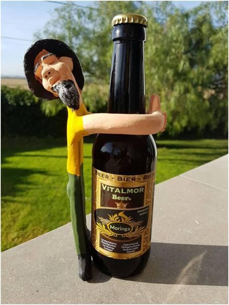 Cerveza de moringa  (Caja con 6 botellas de 330 ml)