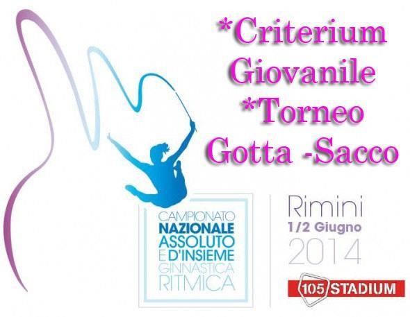 """Criterium Giovanile- 25° trofeo """"Gotta Sacco""""."""