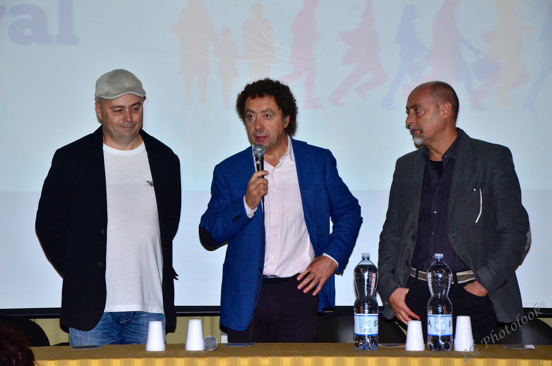 Alessio e Claudio Focardi (registi), Marcello Zeppi (Presidente MISFF)