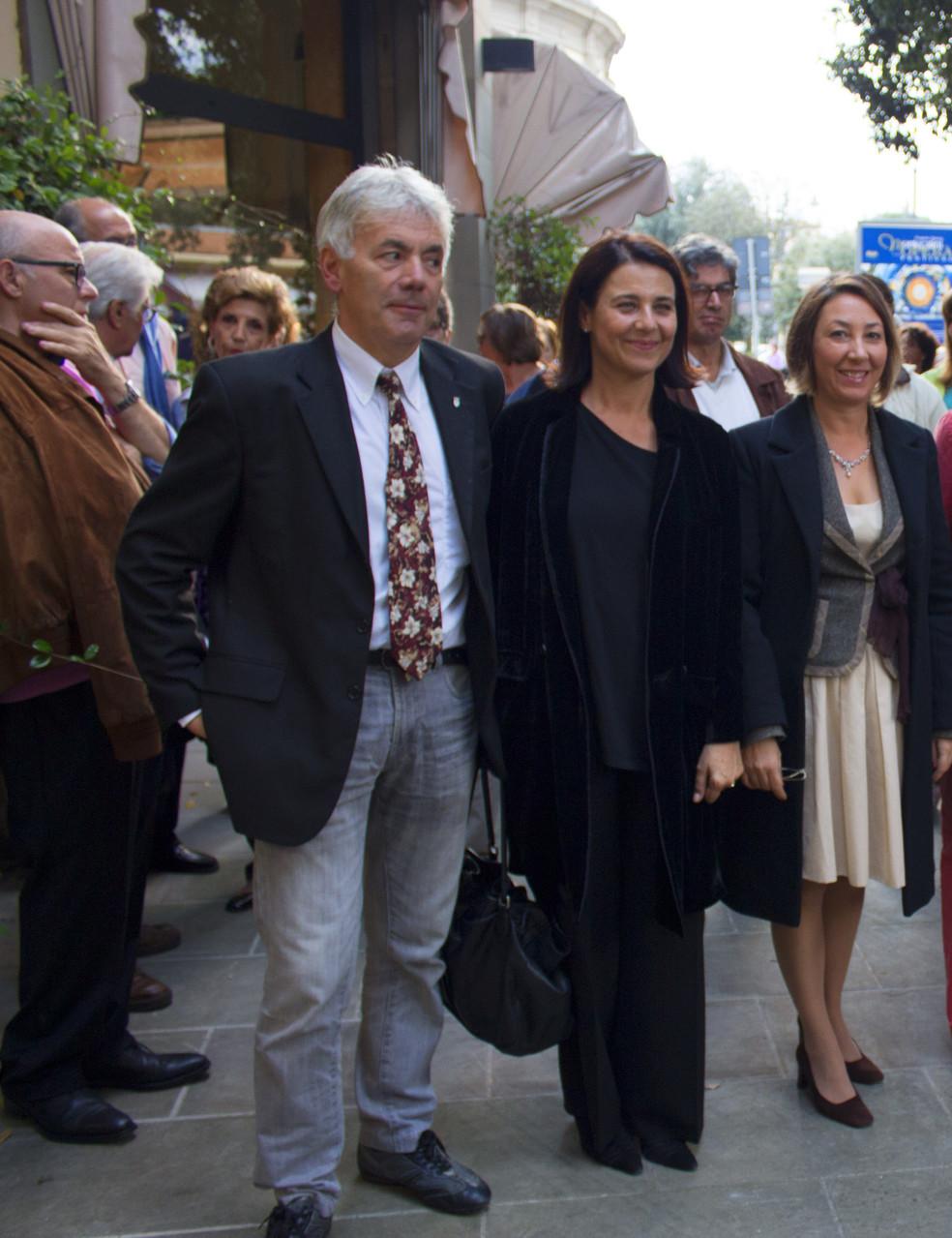 Bruno Ialuna (Assessore alla Cultura di Montecatini Terme), Stefania Ippoliti (Mediateca ed Area Cinema), Barbara Enrichi
