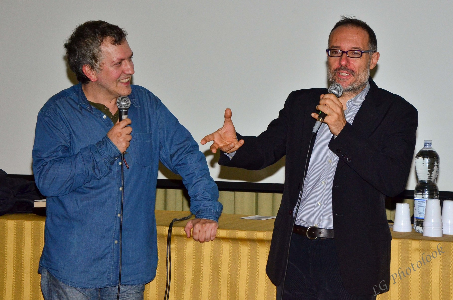 Domenico Costanzo (regista), Giovanni Bogani (critico cinematografico)