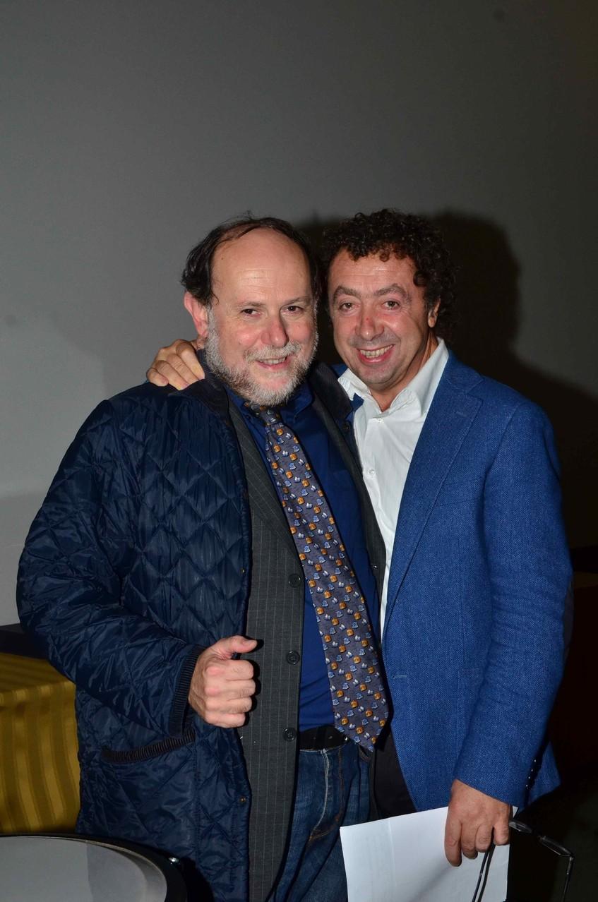 Giancarlo Zappoli (Direttore artistico MISFF), Marcello Zeppi (Presidente MISFF)