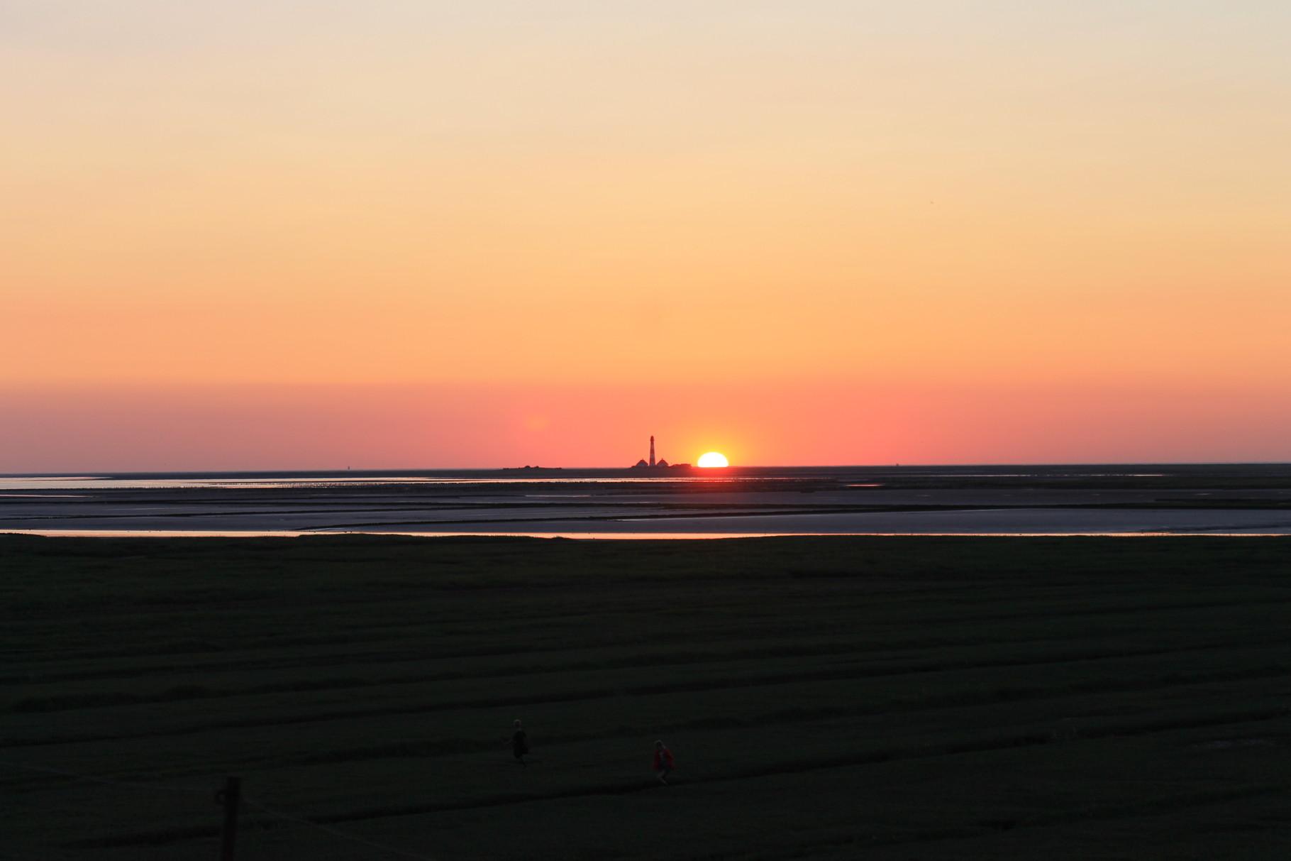 Sonnenuntergang Tümlauer Bucht