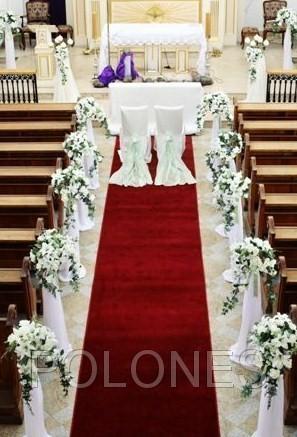 Decoraciones de las iglesias f l o r i s t e r i a p o l for Sillas para novios en la iglesia