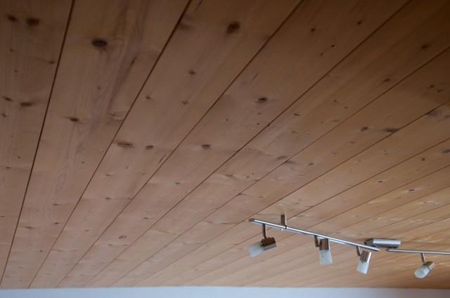 Holzdecke - gemacht vom Sunnawirt