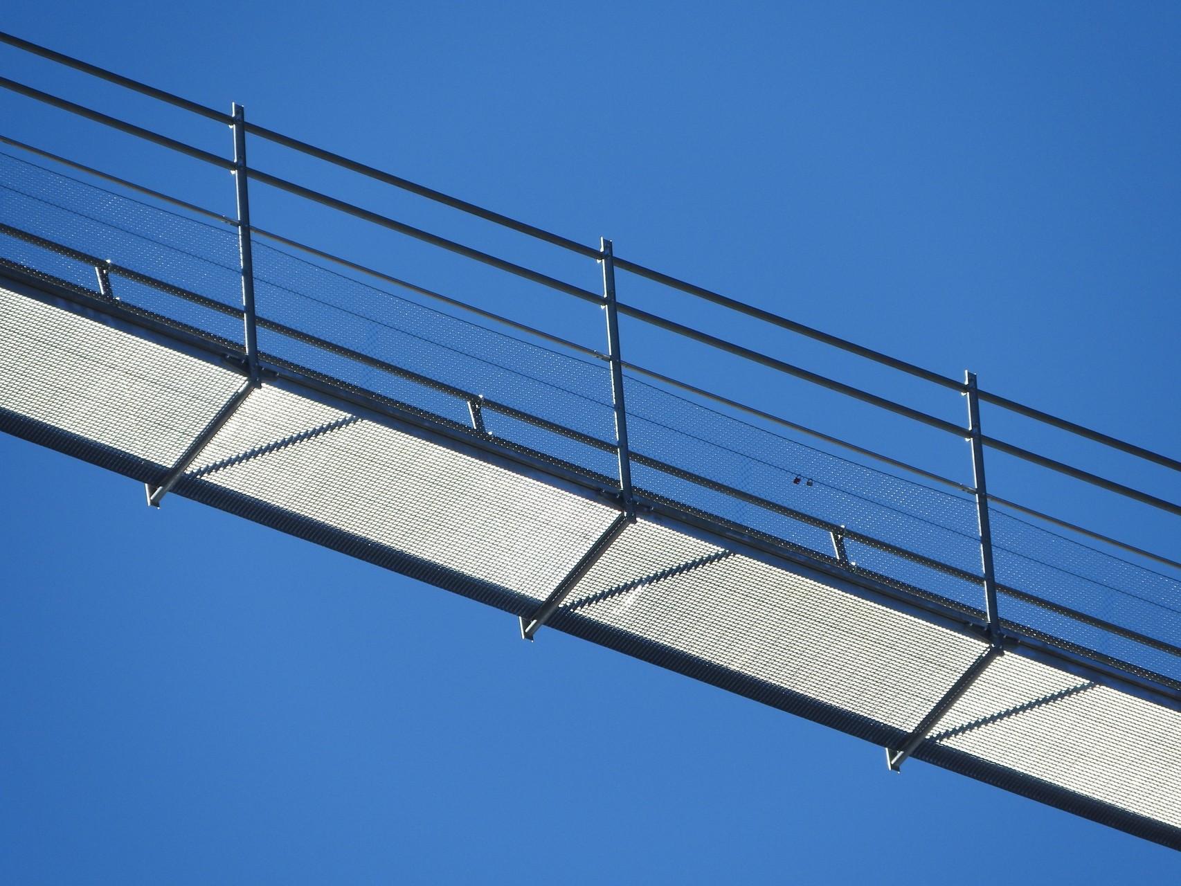 Die Highline von der Klause gesehen