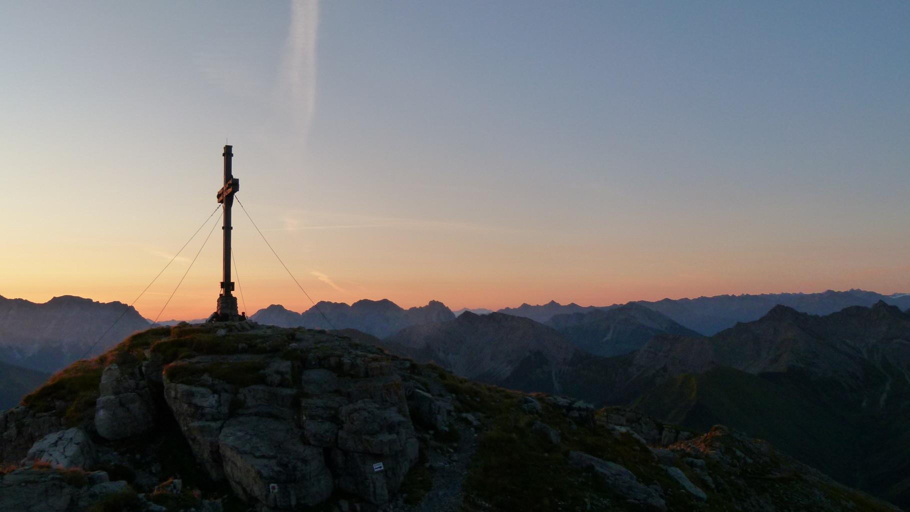 Der weite Blick über die Ausserferner Berge
