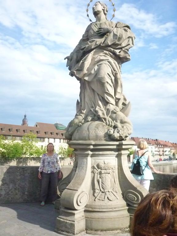 Aussicht von der Alten Mainbrücke