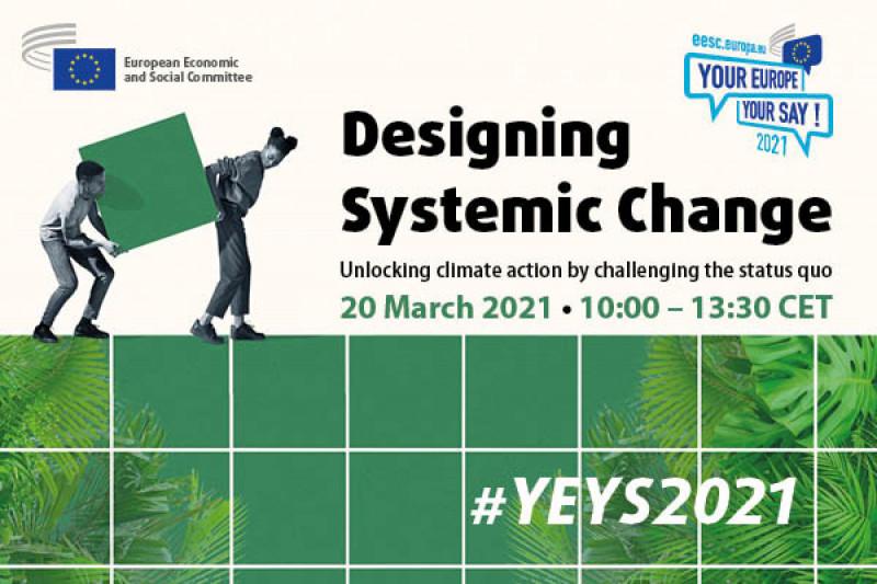 «¡Tu Europa, tu voz!» 2021 – ¡Participa en el debate sobre el cambio climático!