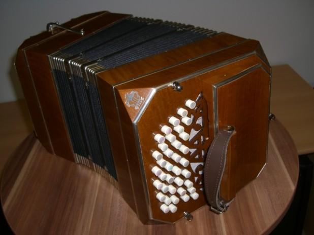 Bandoneon Typ 152 II/II-Chor