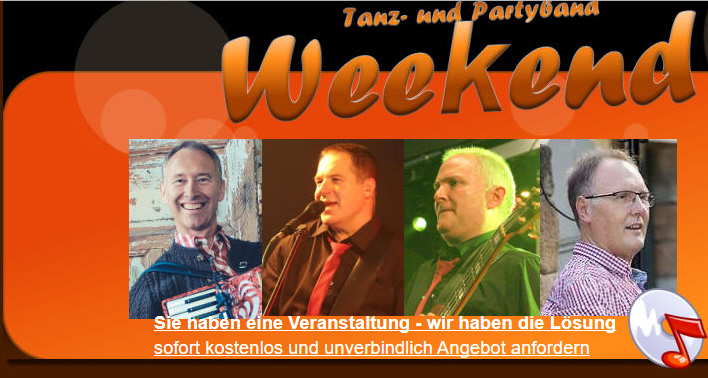 Partyband Weekend