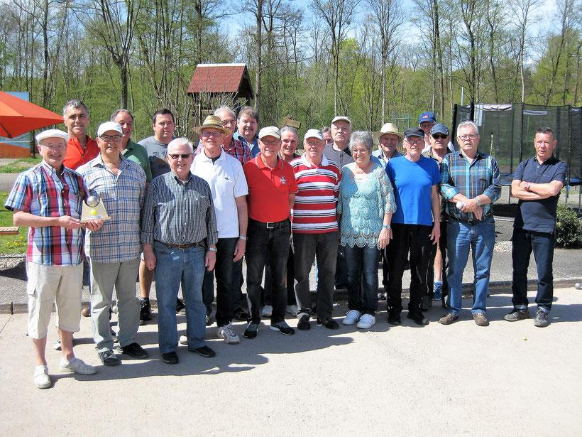 Teilnehmer Bouleturnier