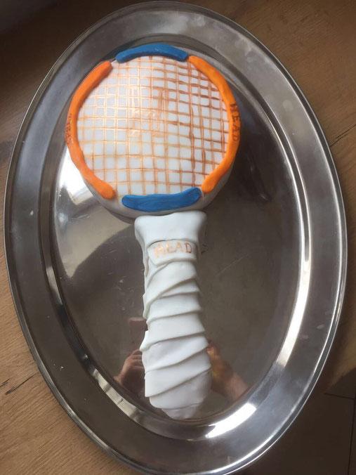 Tennis-Kuchen für die Kinder