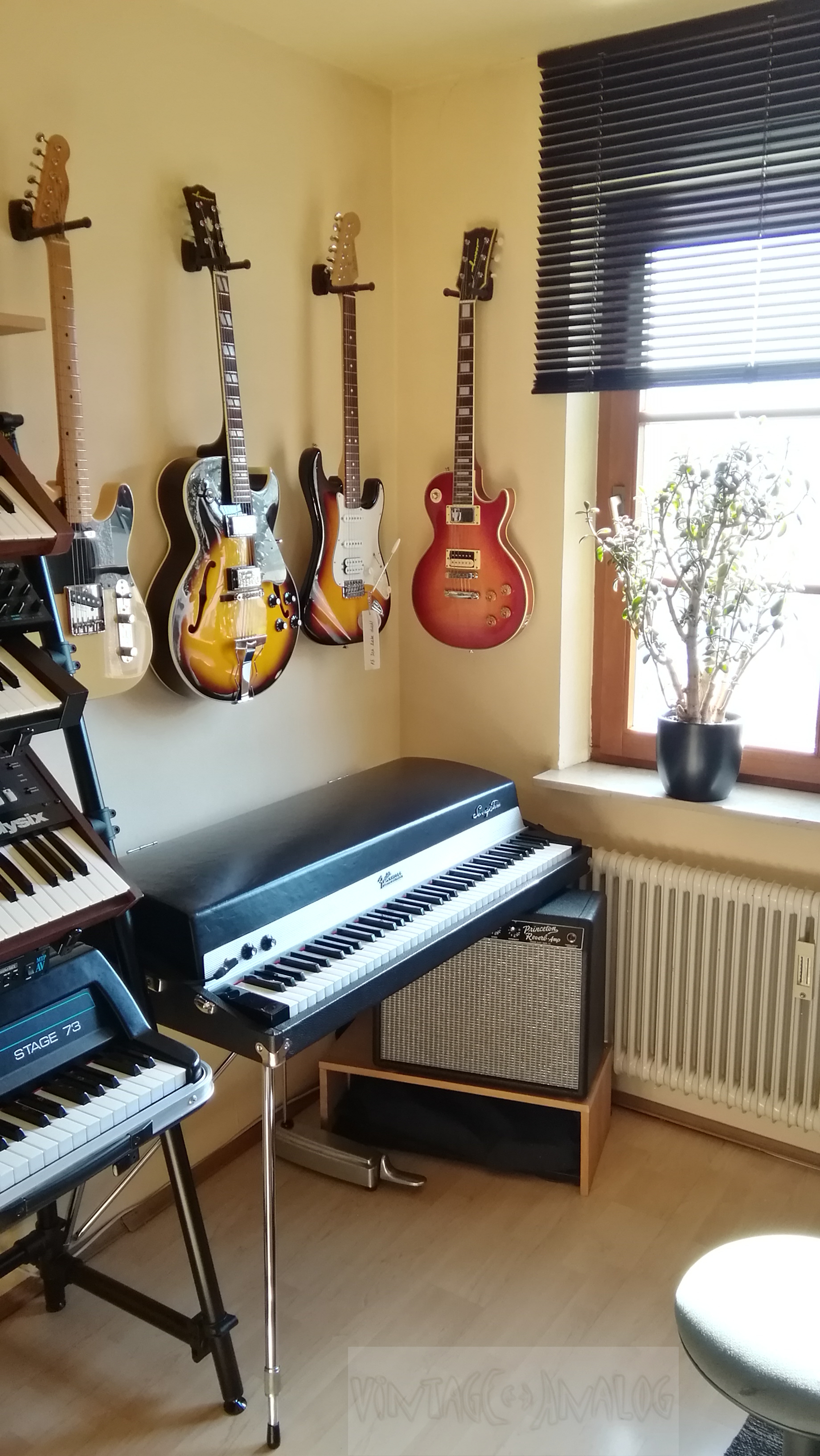 Guitars and Effects - The Study Room Studio Home