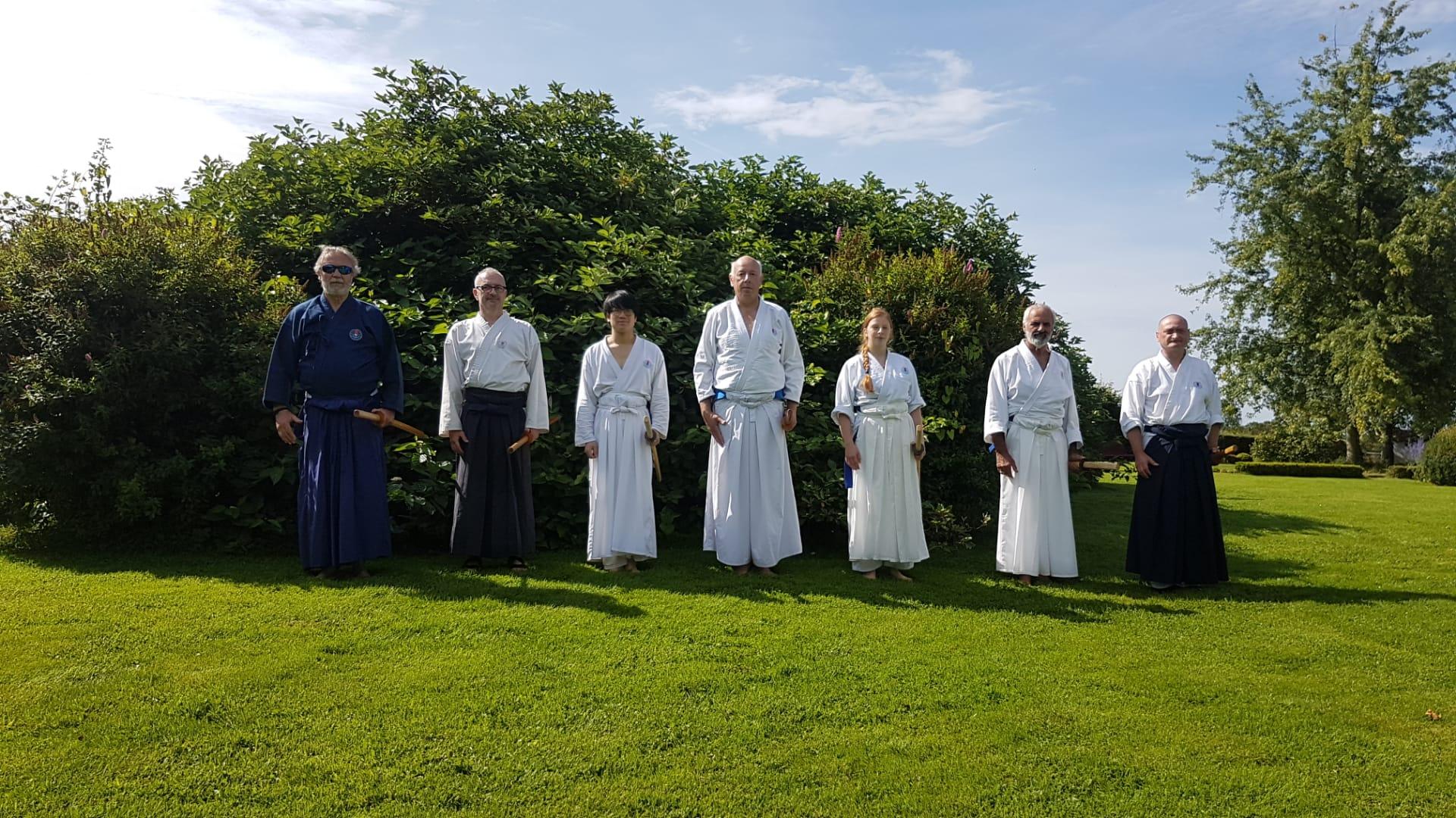 Passage de Shodan en kendo