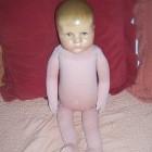 Käthe Kruse Puppe nach der Restauration