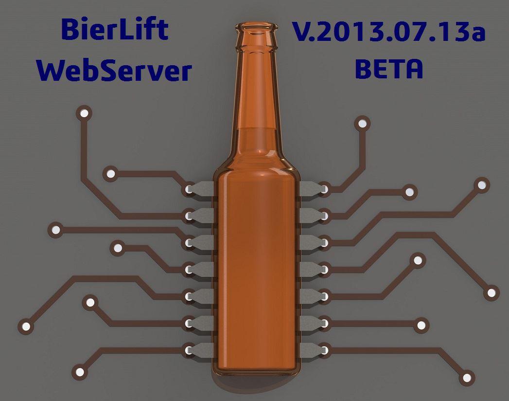 BierLift WebServer  Version V.2021.07.13a BETA!