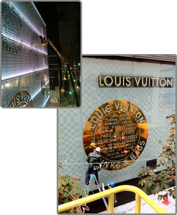 LOUIS VUITTON 銀座