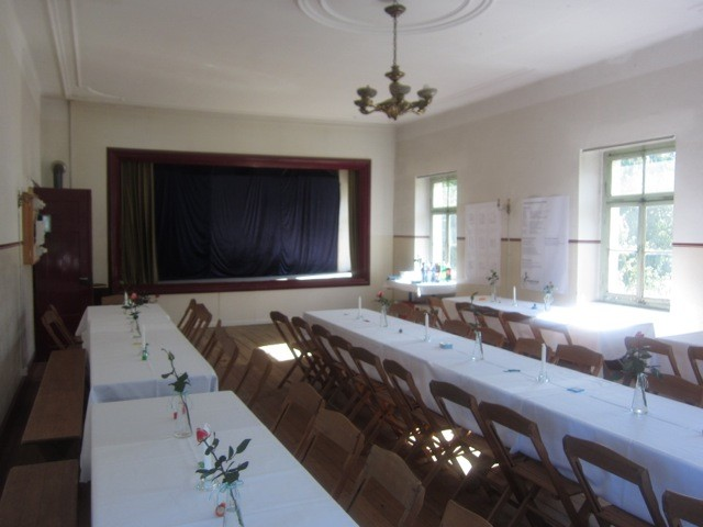 Saal im ersten Obergeschoss