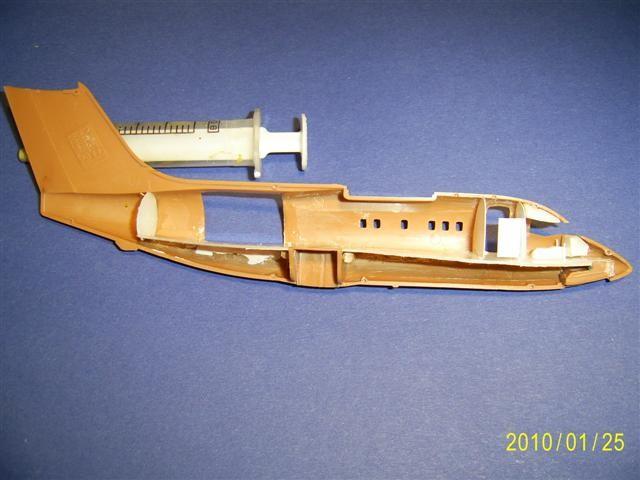 Einbau eines Cockpits und Laderaum