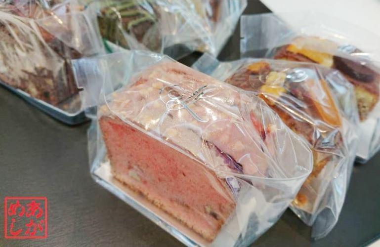 6種の新しいパウンドケーキ